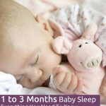 1 to 3 Months Baby Sleep - Everything You Need To Know