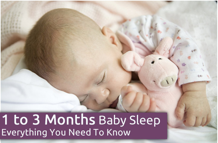 1 to 3 Month Old Baby Sleep