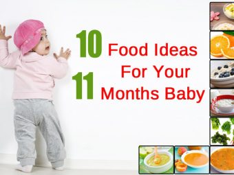 Top 10 Food Ideas/Diet For Your 11 Months Baby