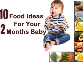 Top 10 Foods Ideas/Diet For Your 12 Months Baby