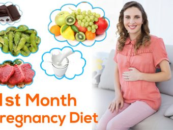 1st Month Pregnancy Diet: What To Eat And Avoid?