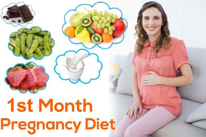 1st Month Pregnancy Diet