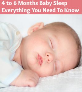 4 To 6 Months Baby's Sleep Schedule And How To Make Them Fall Asleep