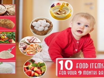 Top 10 Food Ideas/Diet For Your 9 Months Baby
