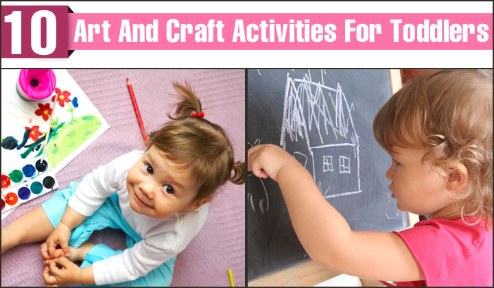 Art And Craft Activities For Toddlers