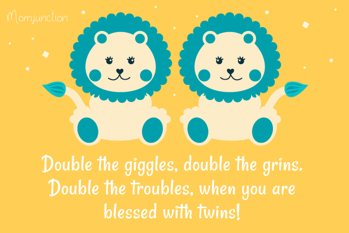 Baby Shower Messages For Twins