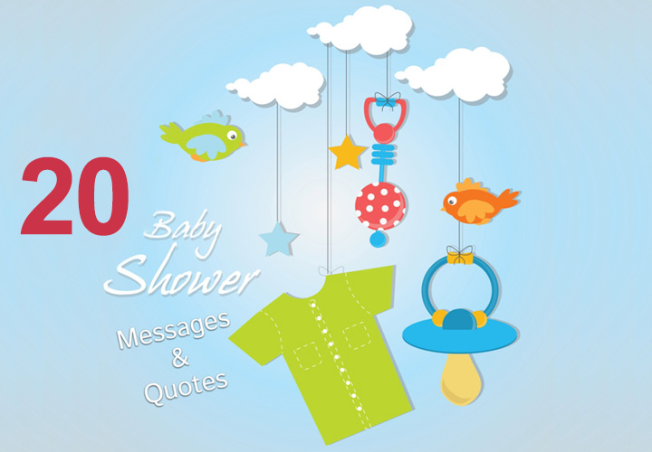 top 20 baby shower messages and quotes