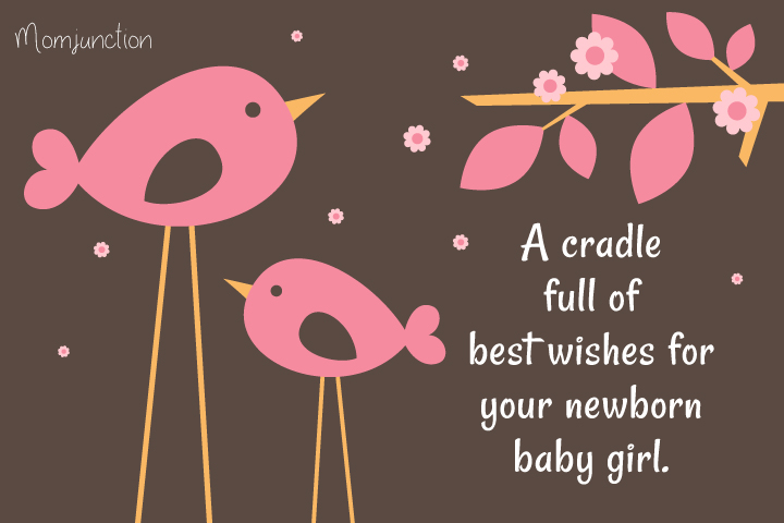 Baby Shower Wishes For A Baby Girl