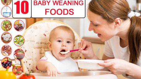 Baby Weaning Foods