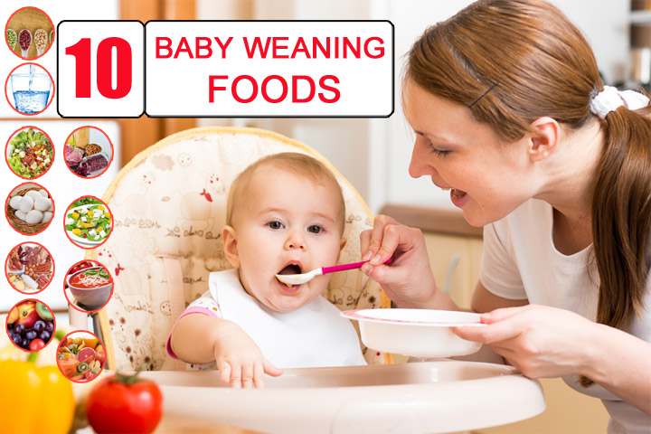 Types of weaning foods