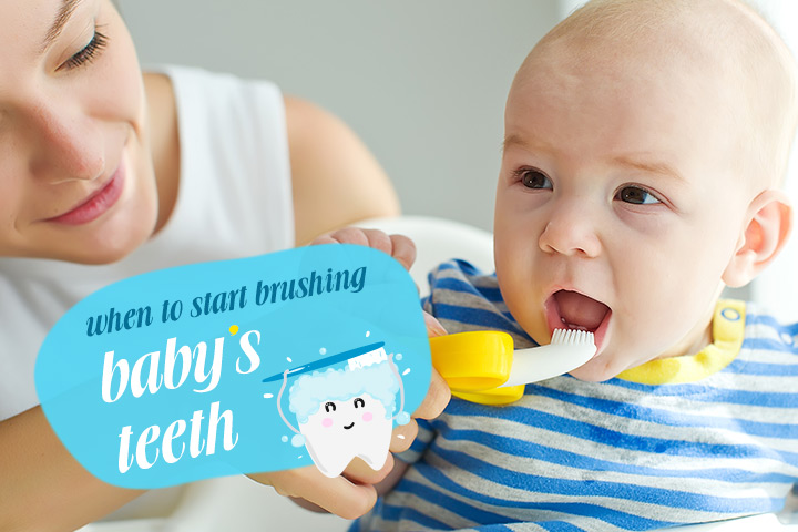 Brushing Baby's Teeth