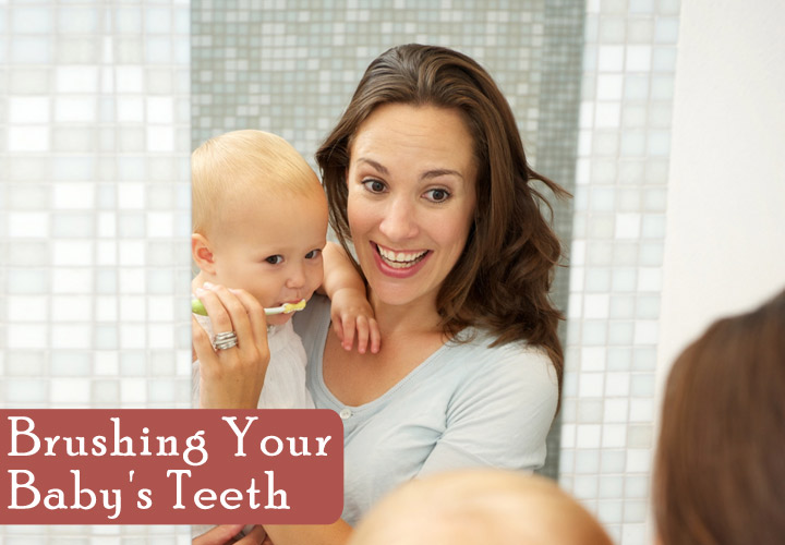 Brushing Your Baby's Teeth