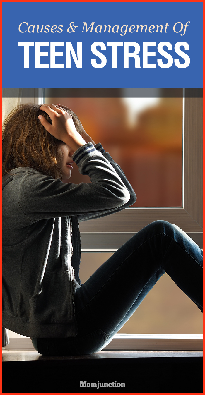 causes and management tips of teen stress momjunction