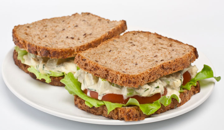 Bread Recipes For Kids - Cheese and Celery Sandwiches