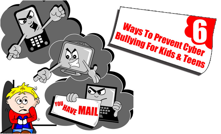 6 best ways to prevent cyber bullying for kids teens
