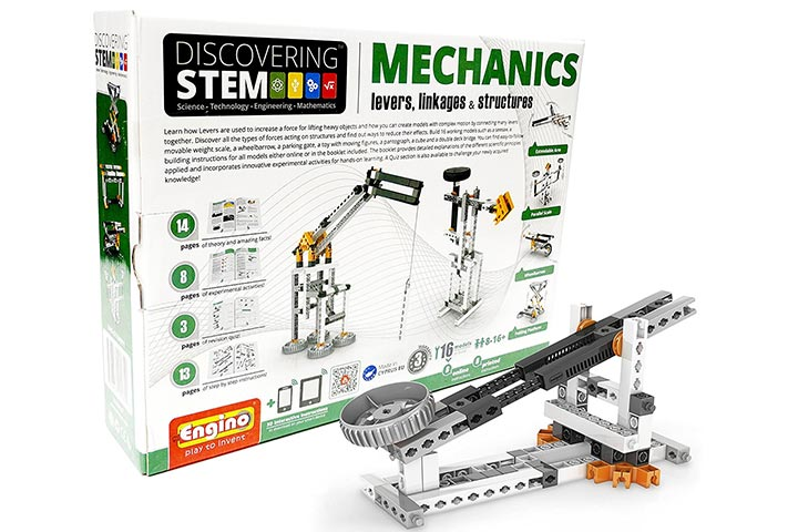 Engino Discovering Stem Levers, Linkages & Structures Building Kit