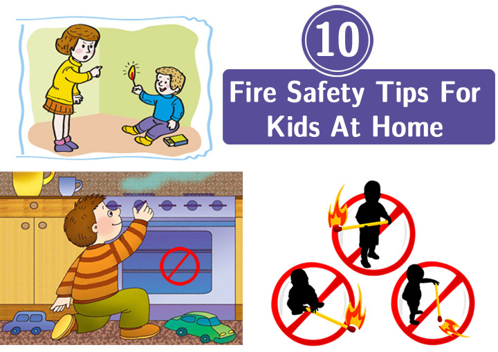 Fire safety rules at home for Safety around the house