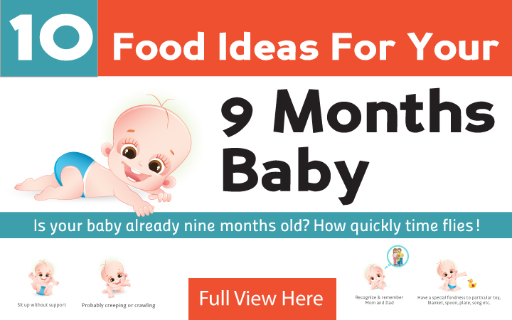 9th Month Baby Food Feeding Schedule With Tasty Recipes