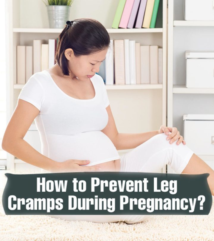 Pregnant Woman With Leg Cramps