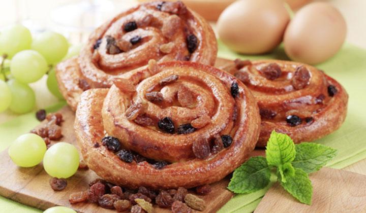 Bread Recipes For Kids - Jam Pinwheels