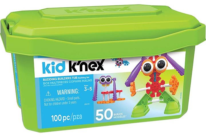 Kid K'NEX – Budding Builders Building Set
