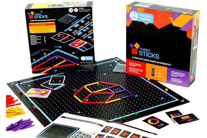 Kitki Three Sticks Maths Game