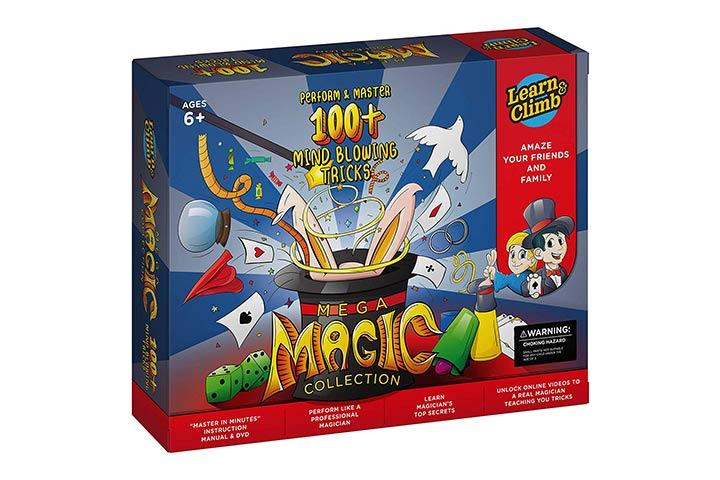 Learn & Climb Mega Magic Tricks Set for Kids