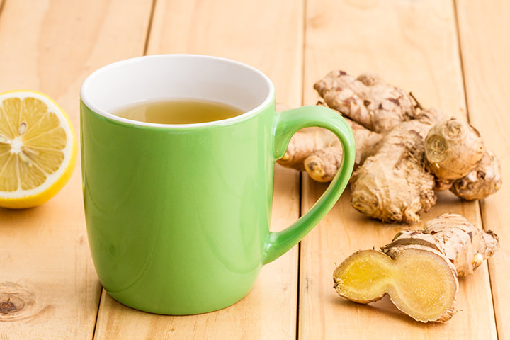 Lemon And Ginger Tea