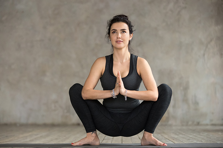 Malasana Squat or Garland pose