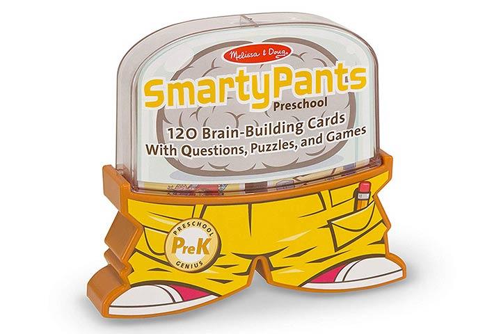 Melissa & Doug Smarty Pants Preschool Card Set