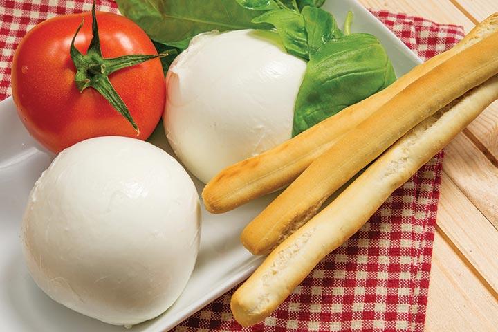 Bread Recipes For Kids - Mozzarella Stuffed Soft Breadsticks