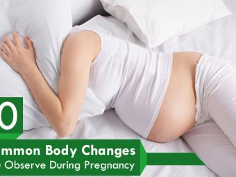 10 Typical Body Changes During Pregnancy