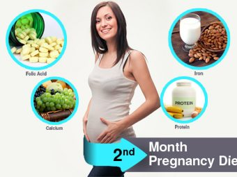 2nd Month Pregnancy Diet - Which Foods To Eat And Avoid?
