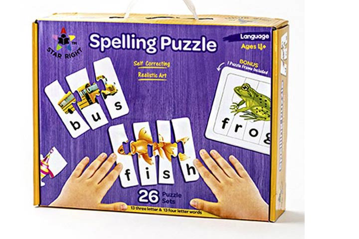 Star Right Educational Spelling Puzzle Game