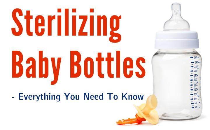 Sterile Water Bottles Sterilizing Baby Bottles