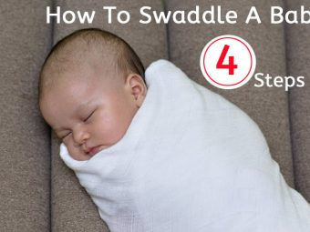 How To Swaddle A Baby - Step By Step Guide
