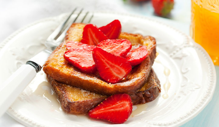 Bread Recipes For Kids - Sweet French Toast