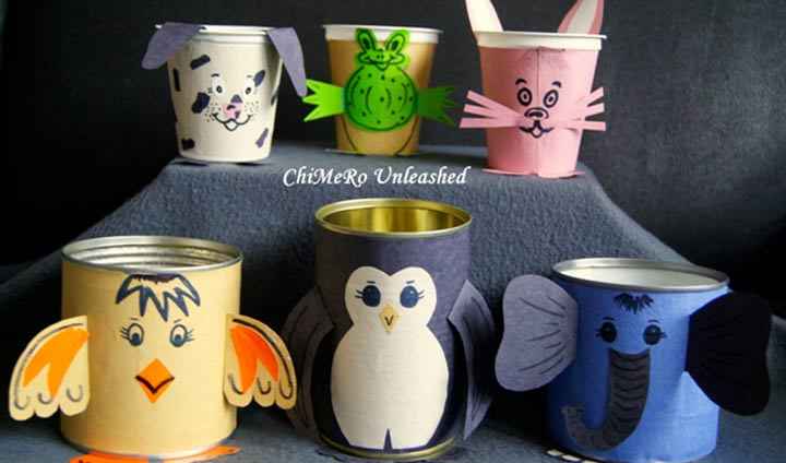 Tin Can Animals