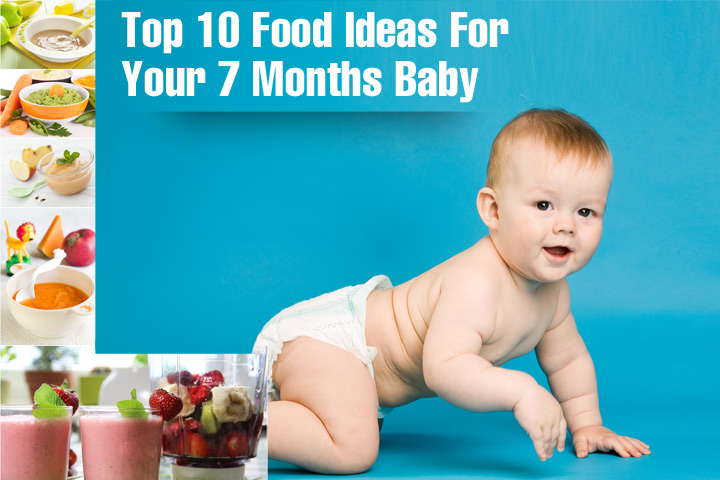 7 Month Old Babys Food Solids Food Chart And Recipes
