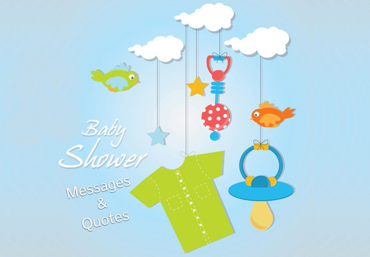 Baby Blessing Quotes Simple Top 48 Baby Shower Messages And Quotes