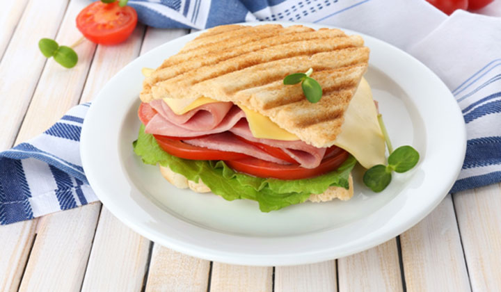 Bread Recipes For Kids - Vegetable Sandwich