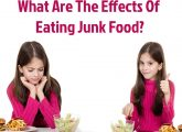 What Are The Effects Of Eating Junk Food In Kids?
