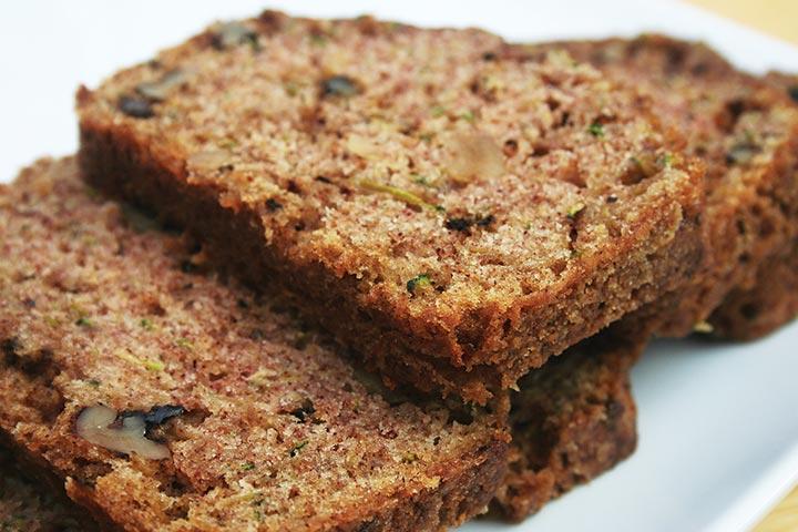 Bread Recipes For Kids - Zucchini Pineapple Quick Bread