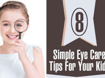 8 Simple Eye Care Tips For Kids