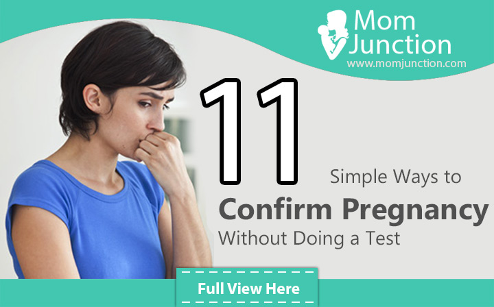 Confirm Pregnancy Without Test