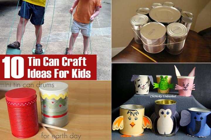 tin can craft ideas for kids
