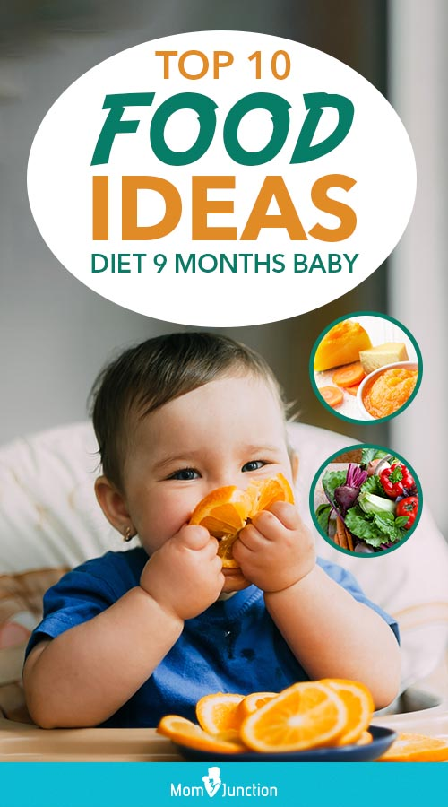 9th month baby food: Feeding schedule with Tasty Recipes