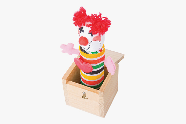 Clown in the box Gifts for Baby Boy