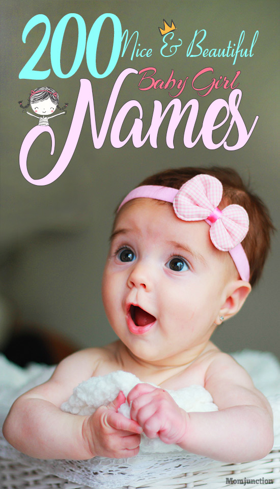 235 Nice And Beautiful Baby Girl Names With Meanings