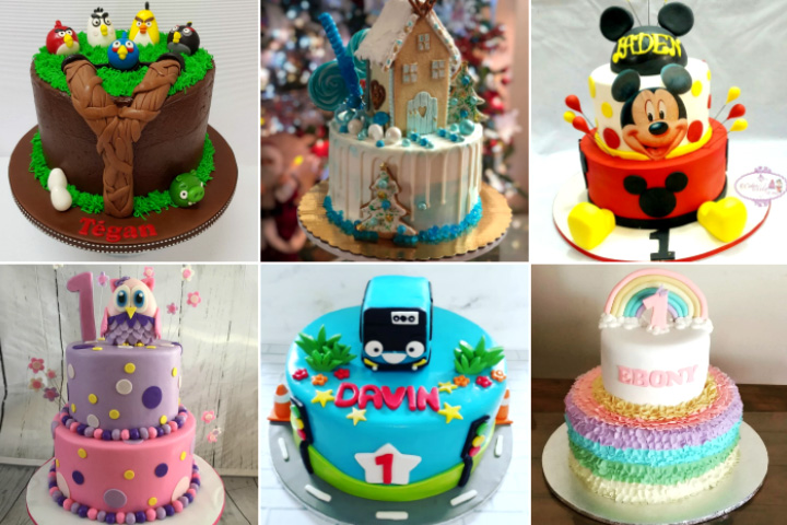 39 Awesome Ideas For Your Baby's 1st Birthday Cakes